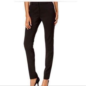 Michael Kors Straight Leg Black Work Pants